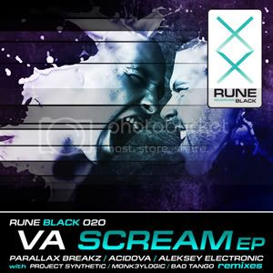 RUNE020BLACK_VA_-_Scream EP